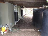 Rainwater Tanks First Flush Under Deck