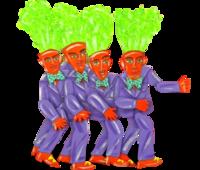 4 Carrot Tops