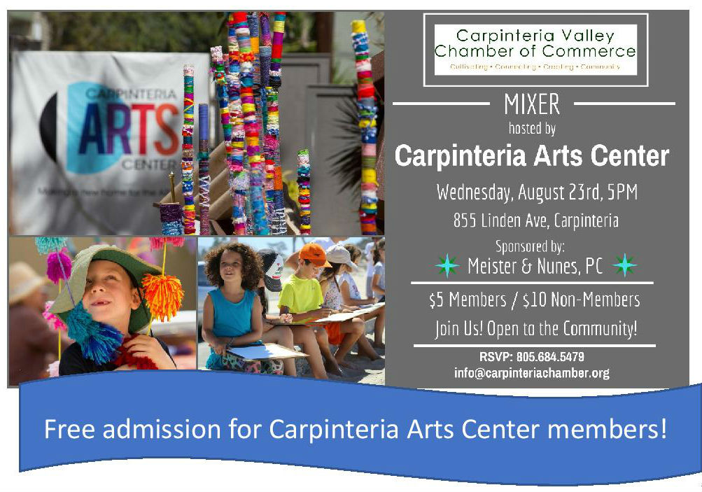 Carpinteria Valley Chamber of Commerce August Mixer