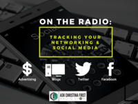 One the Radio: Tracking Your Networking & Social Media