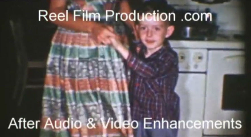 8mm 16mm film video audio reel to reel restoration digital transfer - After Video