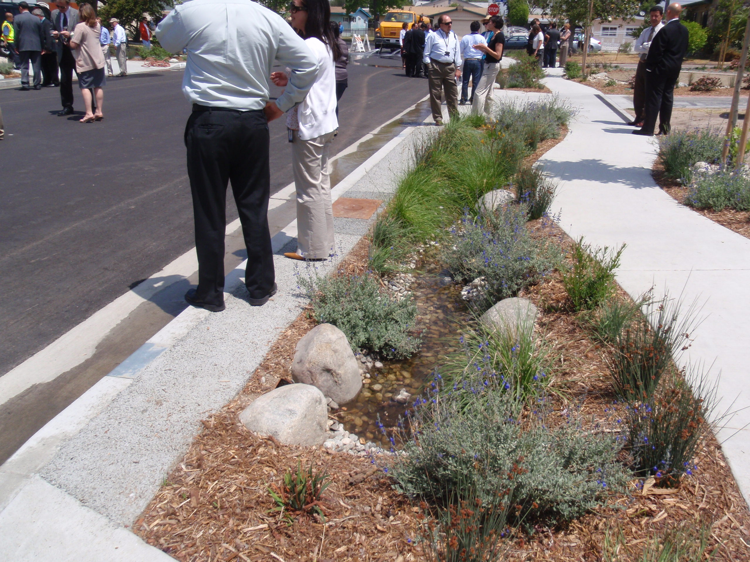 Bioswales Amp Water Control Wilson Environmental Contracting