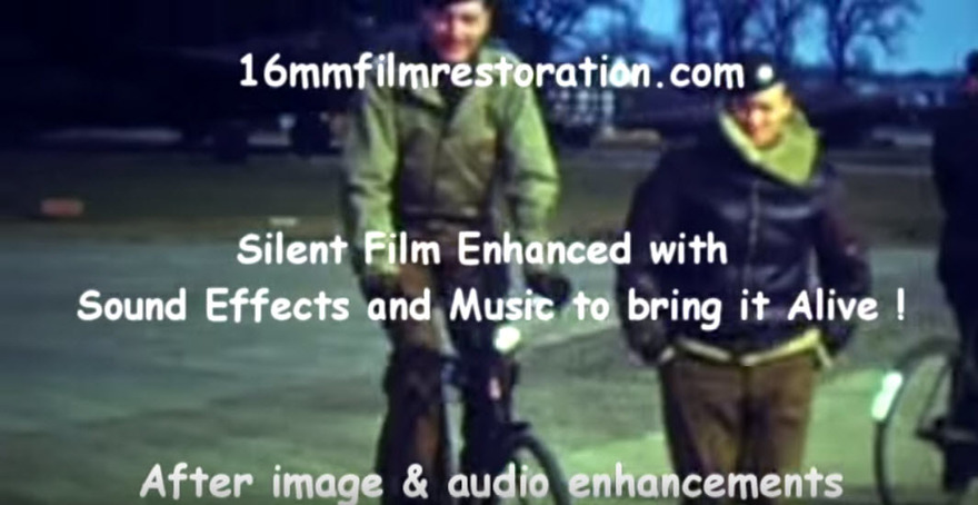 After Film Video Audio Restoration #5