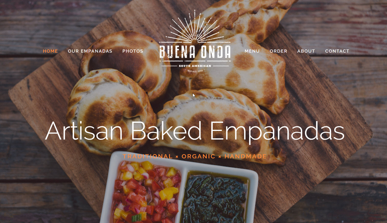 Santa Barbara handmade, fresh baked, authentic Argentinian Empanadas