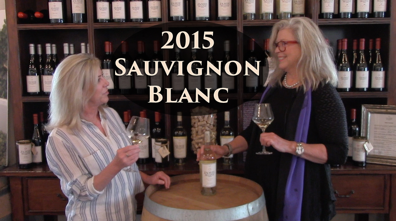Our 2015 Sauvignon Blanc goes from Vine To Wine