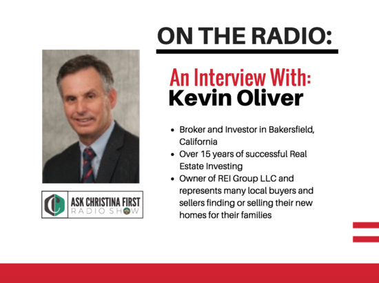 On the Radio: AN Interview with Kevin Oliver