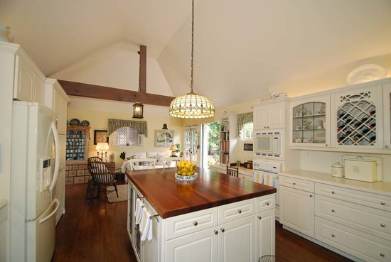 Enchanting Storybook Cottage & Guest House in Santa Barbara Kitchen