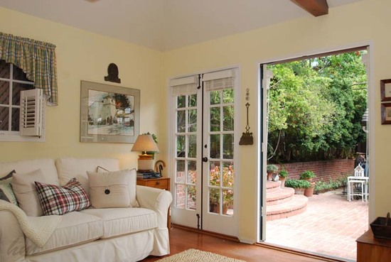 Enchanting Storybook Cottage & Guest House in Santa Barbara Family Room