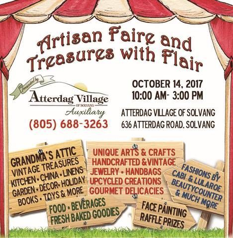 Artisan Faire and Treasures with Flair
