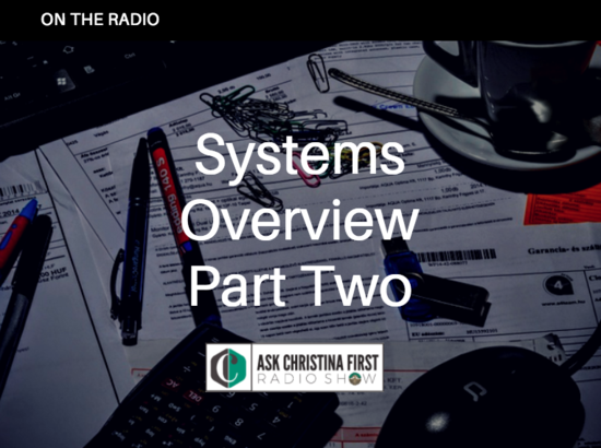On the Radio: Systems Overview Pt. 2