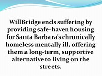 Willbridge SlideshowWillbridge Homeless Housing Help7 2017