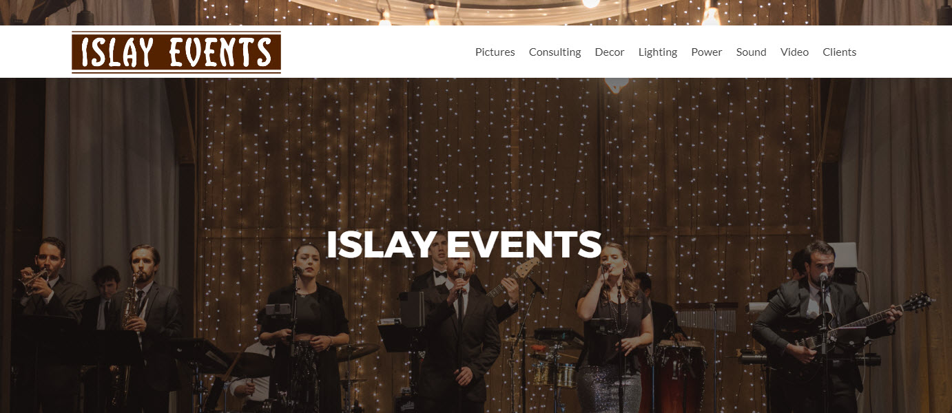 Event Sound and Lighting - Islay Events