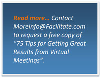 Getting Great Results from Virtual Meetings