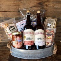 Beer Gift Basket Courtesy of Santa Barbara Gift Baskets