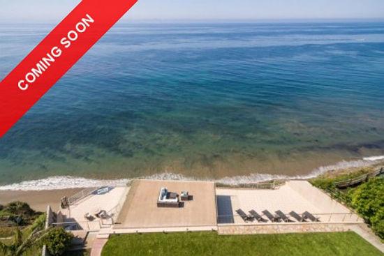Santa Barbara - Mesa - Ocean Front Estate