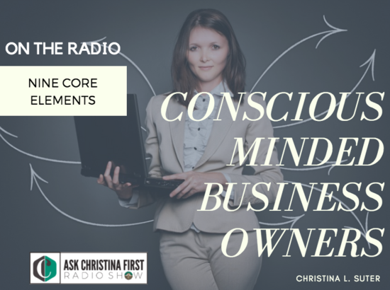 Radio: Conscious Minded Business Owners: 9 Elements