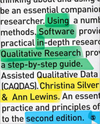 Using Software in Qualitative Research - A Step-by-Step Guide