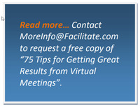 Six Critical Success Factors for Running a Successful Virtual Meeting