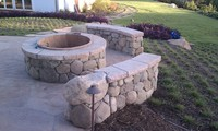 Stone Fire Pit 2