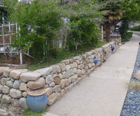 Sandstone Wall & Path