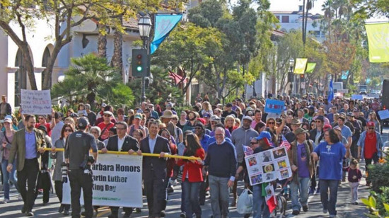 Santa Barbara Honors Dr. Martin Luther King, Jr. Holiday