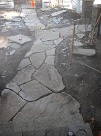 Flastone Path In-Progress