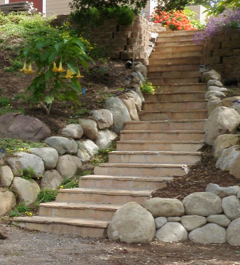 Flagstone Stairs 2