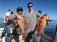 Coral Sea 3/4 day Charter 10.25.17