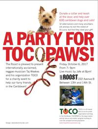 A Party for TOCOPAWS