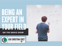 On the Radio: Being An Expert In Your Field