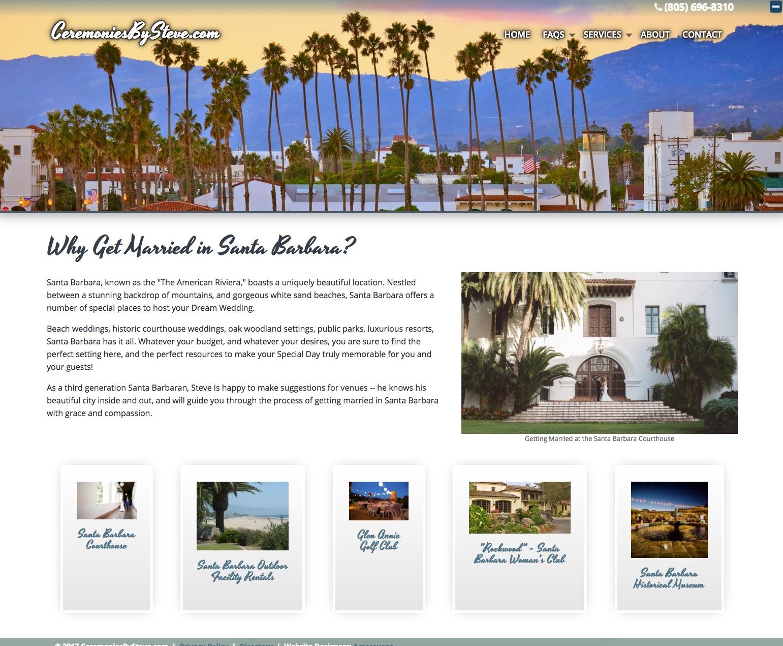 Ceremonies By Steve -- Santa Barbara Wedding Officiant 2