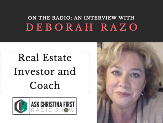 On the Radio: My Interview with Deborah Razo