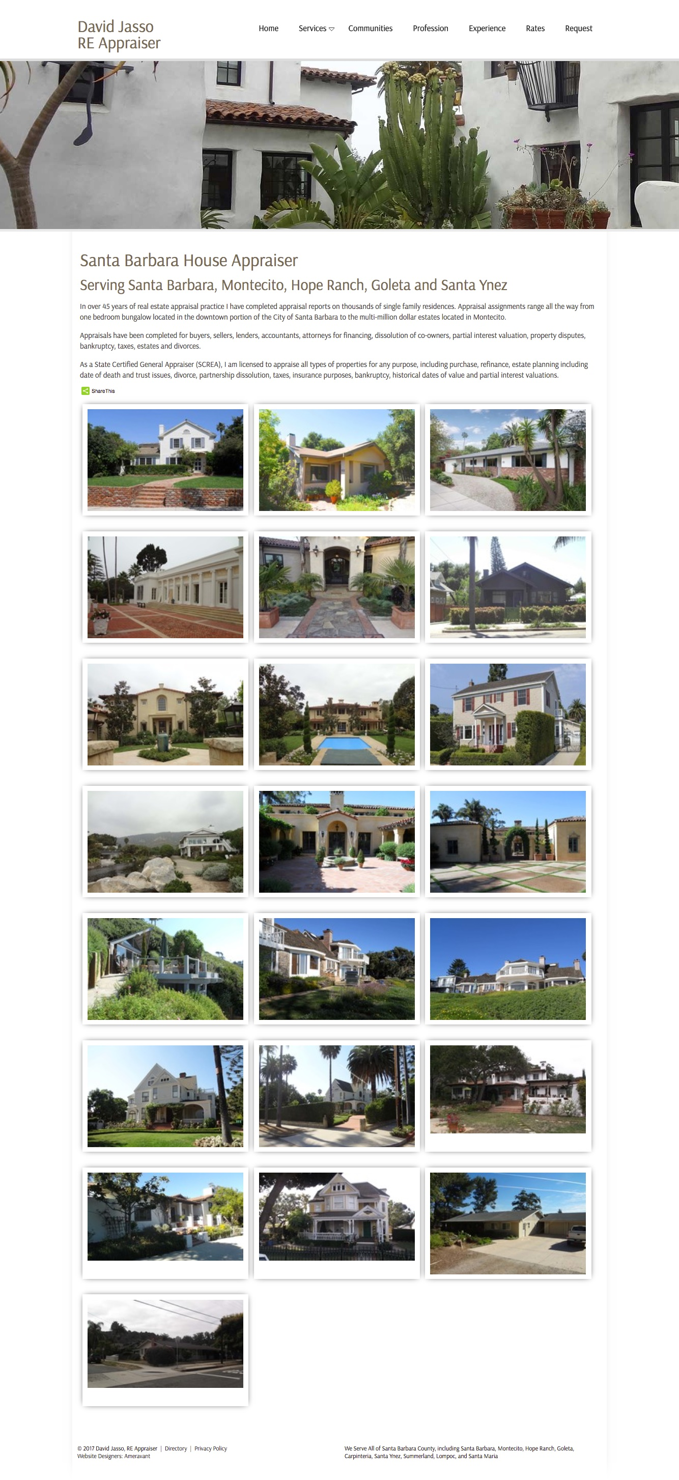 David Jasso Real Estate Appraiser Houses