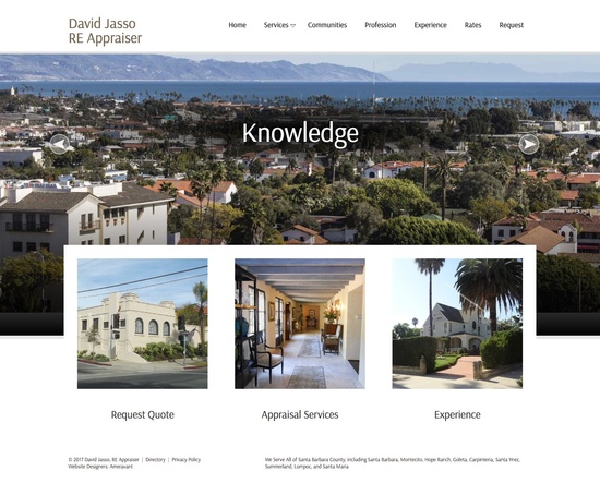 David Jasso Real Estate Appraiser Home