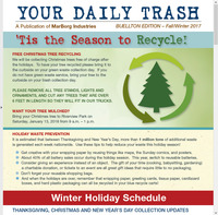 2017 Fall-Winter - Your Daily Trash Newsletter - Buellton