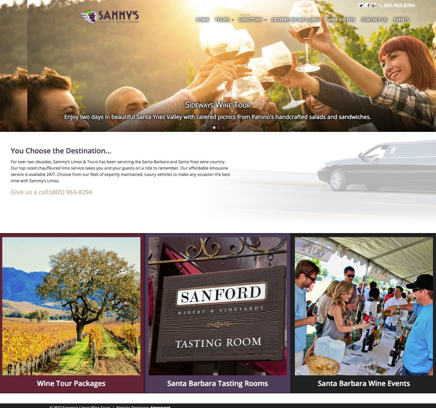 Sammy's Limos and Wine Tours