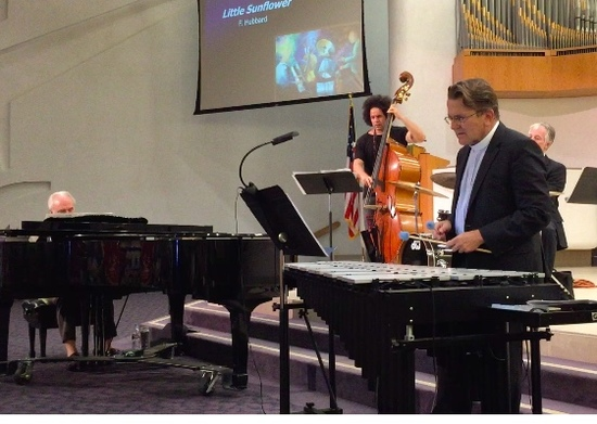 Jazz Vespers ~ the Norm Freeman Quartet at Geneva Pres