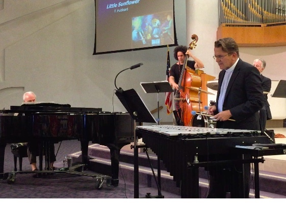 Jazz Vespers ~ the Norm Freeman Quartet at Geneva Pres