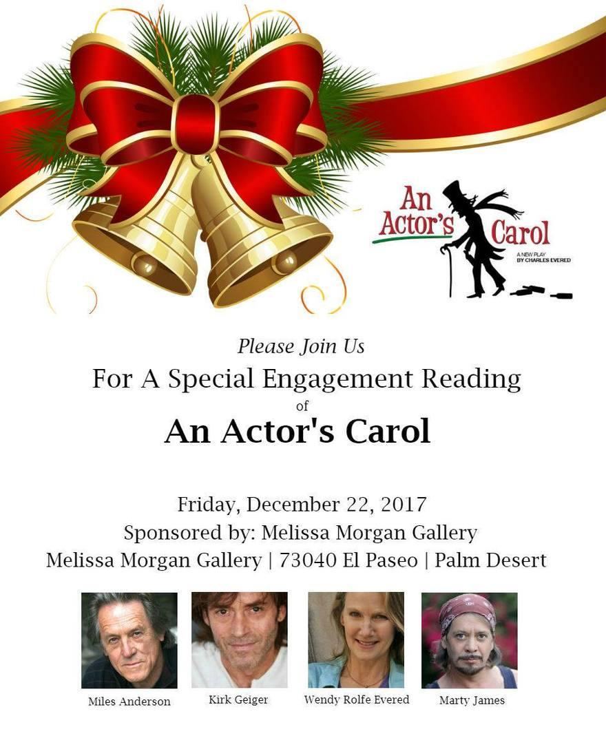 An Actor's Carol Kirk & Noelle Geiger