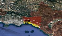 Fllod/Debris Map Santa Barbara County