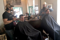 BizHawk: Richies Barber Shop Finds Temporary Home After Floods