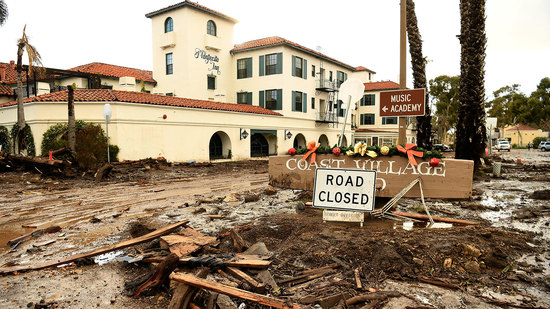 Wine Spectator: Devastating Mudslides Kill 21 in Santa Barbara County