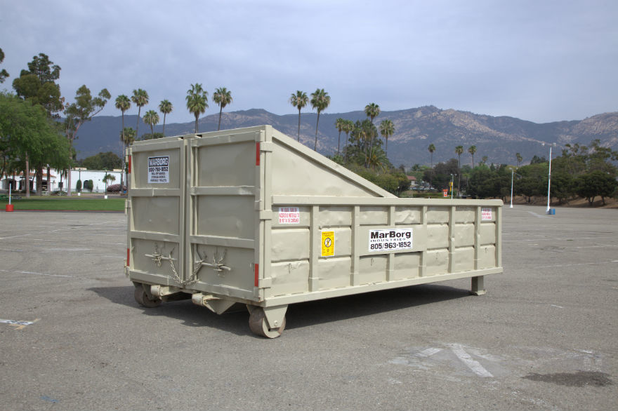 11Yd Container<br/>14'L x 8'W x 32