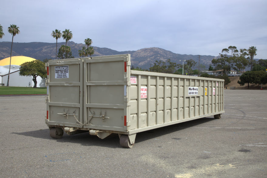 25yd Container<br/>22'L x 8'W x 4'H