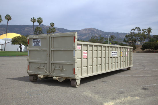 25yd Container 22L x 8W x 4H Roll-Off