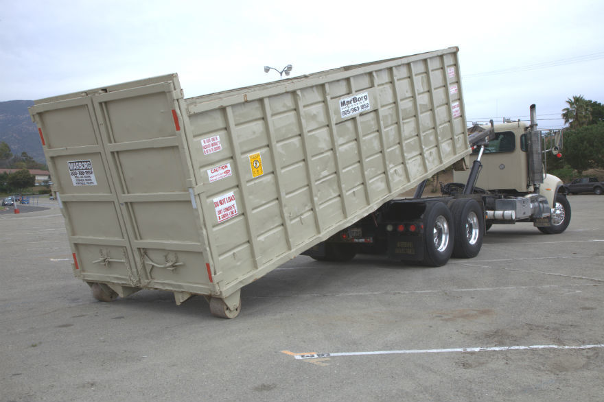 40yd Container<br/>22'L x 8'W x 6'H
