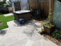 Tight Flagstone Patio
