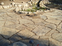 Rustic Flagstone Patio