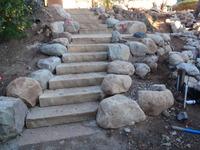Flagstone Stairs & Landing