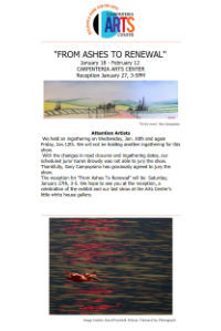 Newsletters Carpinteria Art Center 01/01-01/15/2018